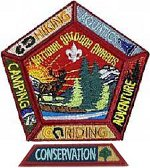 national outdoor badges award