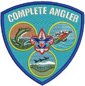 boy scout complete angler award patch