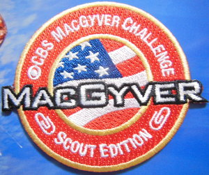 MacGyver Scout patch