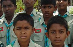 Maldives Boy Scouts Rock