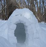 scout snow shelter