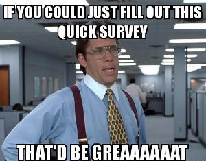 Scout Cost Survey