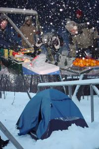 boy scout winter camp