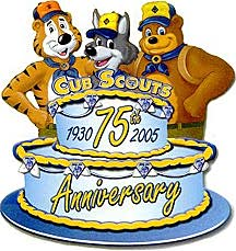 Cub Scout Anniversary
