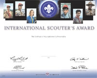 Boy Scout Square Knot Awards