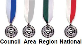 99a40c276b2c Description  Silver knot on green red blue background with silver border.