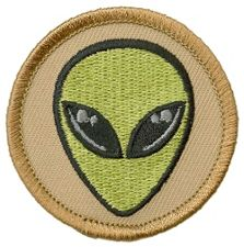 alien patrol patch