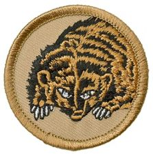 Scout patrol patches.