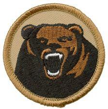 Custom patrol patch.