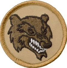 Image result for wolverine cub scout patch