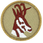 antelope patrol patch