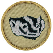 badger patrol patch