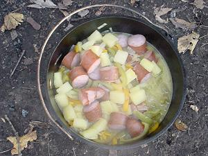 dutch oven kielbasa