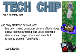 Scout Tech Chip